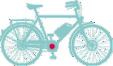 elcykel-mittmotor